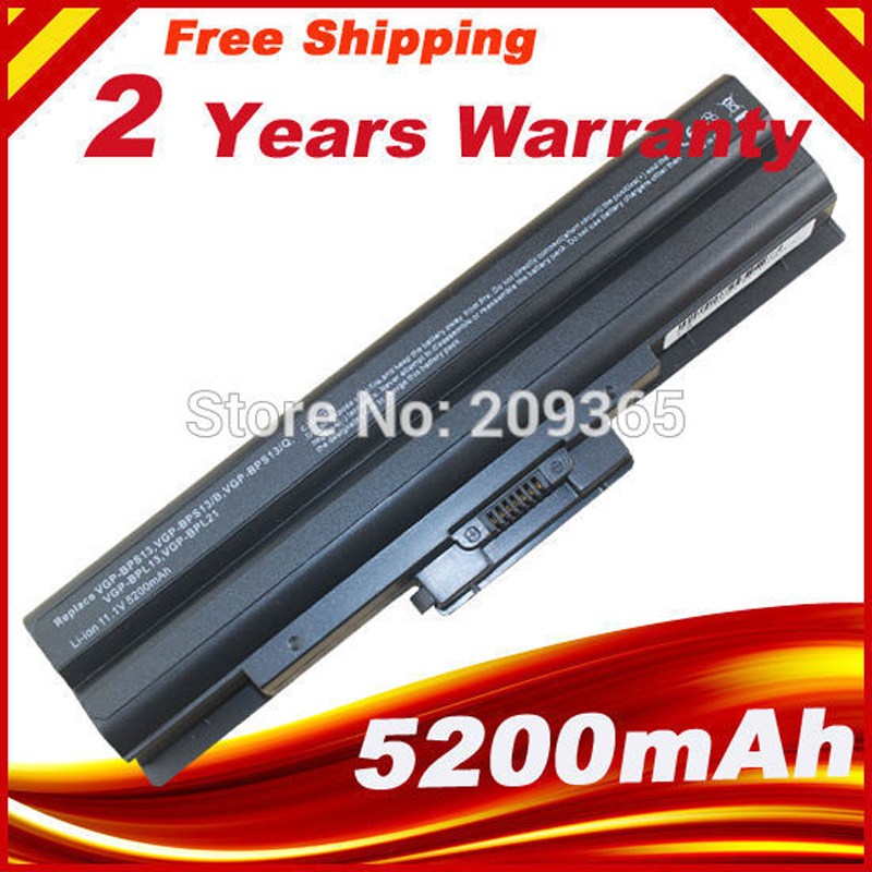 HSW VGP-BPS21A Laptop Battery For SONY VAIO VGP-BPS13/S VGP-BPS13A/S Fast Shipping
