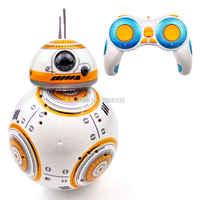 Robot droide BB8 de BB-8 RC Star Wars modelo actualizado, Robot inteligente BB8 de 2,4G, juguetes de Control remoto para niñas, regalos con sonido de acción