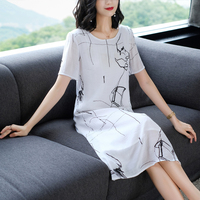 White Cotton Linen Dress Xl Xxl Xxxl Midi Summer women 2019 Plus Size Robe Shirt Dresses Party Loose Elegant Vintage Clothing