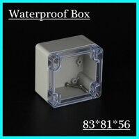 83 81 56mm Clear Cover IP66 Plastic Waterproof Enclosure Abs Plastic Electrical Enclosure Plastic Box Junction