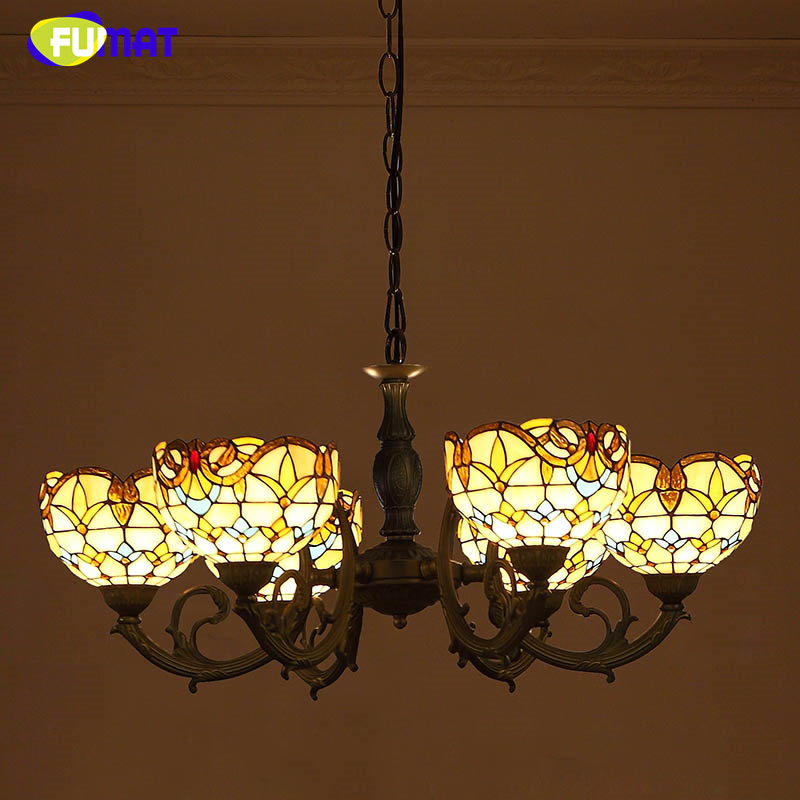 Lightings: FUMAT Baroque Creative Pendant Lights Living Room Dining