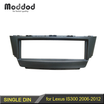 ディン CD DVD ステレオのオーディオパネルレクサス IS300 筋膜ラジオは 300 再装着インダッシュマウントインストールダッシュキットフェイスプレート