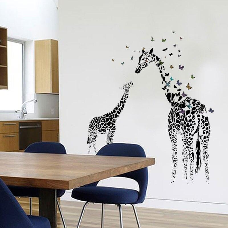 Kreative Schmetterling Dock DIY Dekorative Wand Wohnzimmer Schrank Dekoration Wohnkultur Lotusblatt Decals Kunst Aufkleber