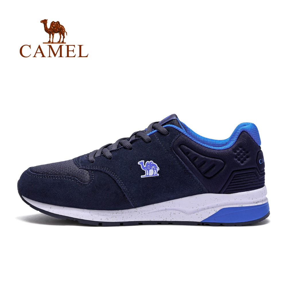 CAMEL Comfortable Shock-Absorption Anti-skid Breathable Running Shoes For Men Jogging Walking Athletic Outdoor Sports Sneakers sneakers men shoes outdoor 2017 size 36 44 sports shoes men running shoes for men lace up boy anti skid jogging walking x158