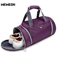 Large Capacity Polyester Sports Bags For Men And Women Vintage Shoulder Gym Bag Sports Duffle With