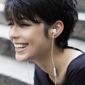 Image 4 - Philips SHE4205 Earphones Bass with Microphone  Wire Control In Earphone Noise Cancelling Earphone for Galaxy 8 Official Testing