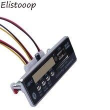 Reproductor MP3 con Bluetooth 2018, Módulo de placa decodificadora de MP3 integrado, radio FM, mando a distancia, USB, FM, Aux