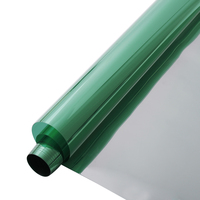 HOHOFILM Green&Silver Window Film Mirrored Wikndow Tint Reflective UV Proof 10m/20m/30m wholesale