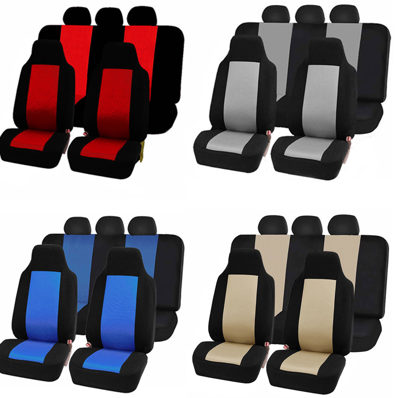 Car Seat Covers Full Automobiles Seats Covers Cheap Four Seasons Universal Car Interior Accessories Seat Protector