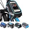 Велосипедная сумка ROSWHEEL  водонепроницаемая велосипедная сумка с передней головкой и двойным IPouch чехлом для мобильного телефона 5 5-6 2 дюйма