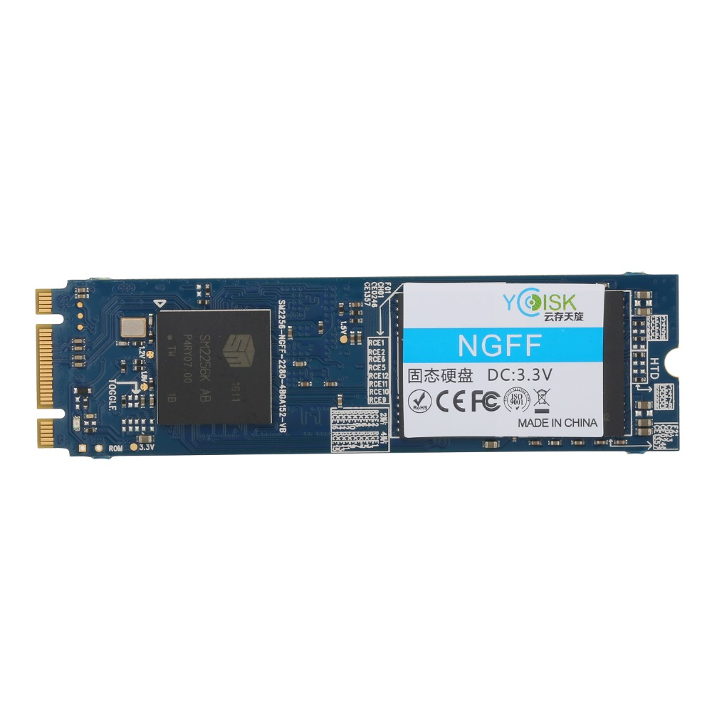 Goldendisk YCdisk Serial M.2 SSD NGFF 256GB 2280 240GB MSATA 3.0 Micro SATA  III Internal 80cm length Fastest SSD Disk 250GB-in Internal Solid State  Drives ...