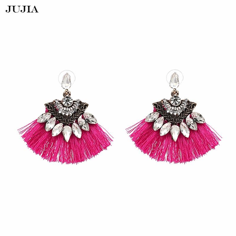 Vintage Fringing drop Earrings Fashion 2017 brand Boho Maxi luxury Dangle Tassel Earrings for Women Jewelry