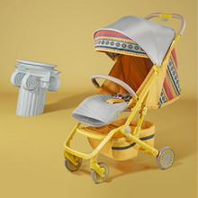 Islamic Decoration Luxury Baby Stroller Muslim Hot Mom Stroller Travel Pram Portable Stroller Pushchair Baby Trolley Carriage