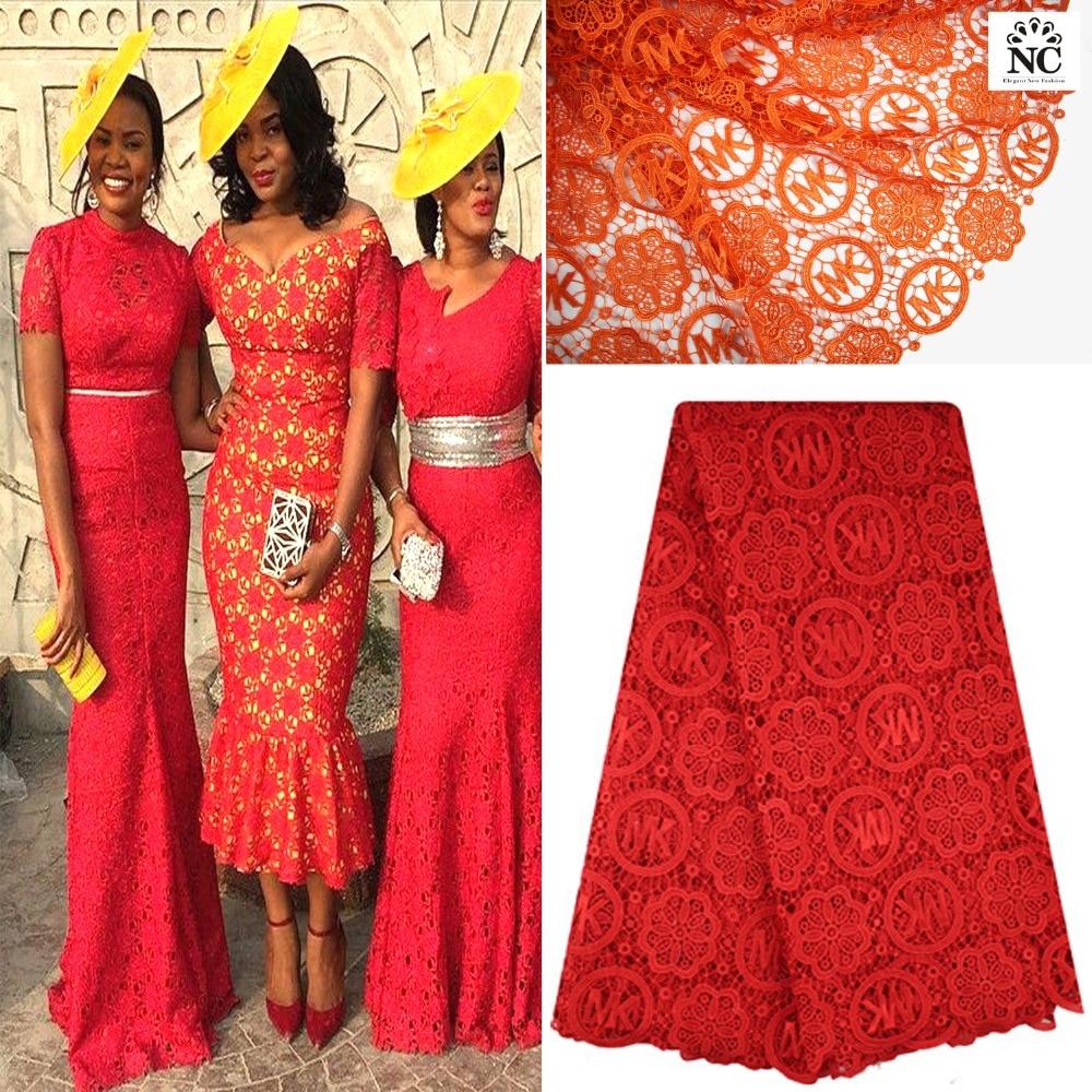 Latest African Fashion Lace High Quality Nigerian Wedding