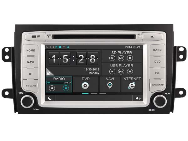 FOR SUZUKI SX4 2006 2012 CAR DVD GPS Player car stereo car audio head unit Capacitive