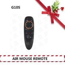 G10S Fly Air мышь дистанционное управление гиродатчик с голосом 2,4 ГГц беспроводной микрофон для смарт-ТВ на андроид коробка T9./PC