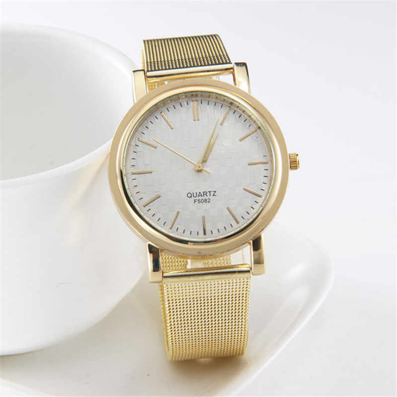 ef9f72a067e0 Detail Feedback Questions about New Fashion Gold Women Watch Men ...