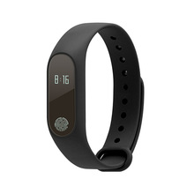 M2 Waterproof Sport Pedometer Fitness Pedometer BT Smart Bracelet Touch Screen Heart Rate Monitor Blood Pressure Monitor  - buy with discount