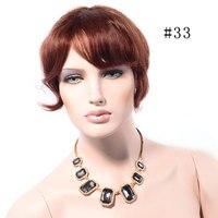 LADYSTAR 100 Real Virgin Brazilian Human Hair Fashion One Piece Clip In Hair Bang Fringe