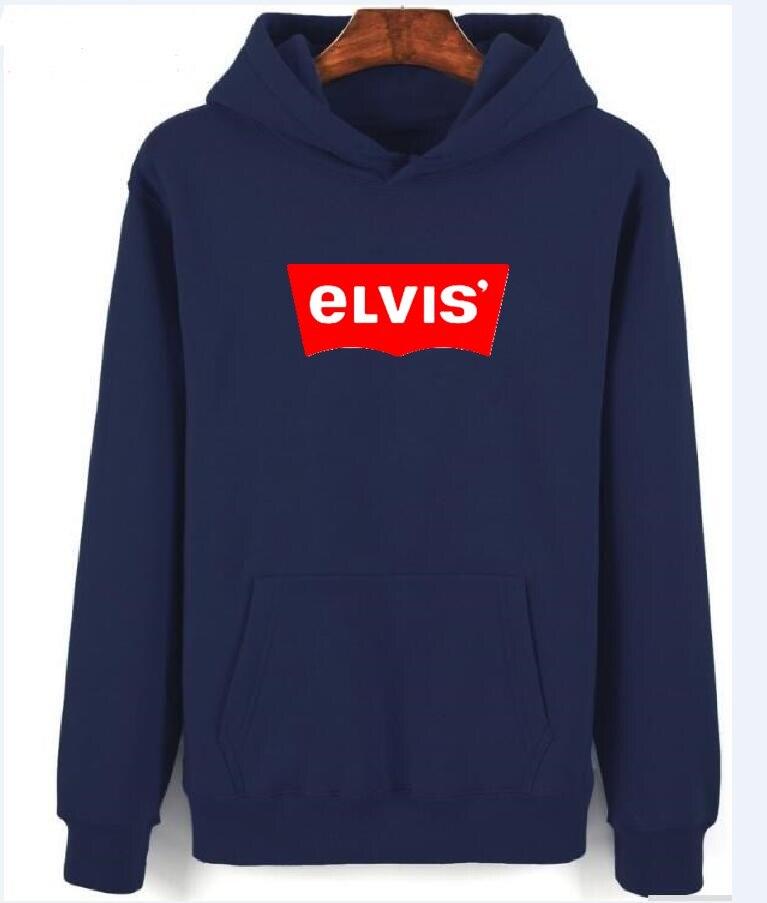 8b8d1cbb2f7 2018 Winter Fleece 100% cotton Sweatshirt Men And Women Long Sleeve elvis  hoodies mens Hooded Sportswear Fashion jacket-in Hoodies   Sweatshirts from  Men s ...