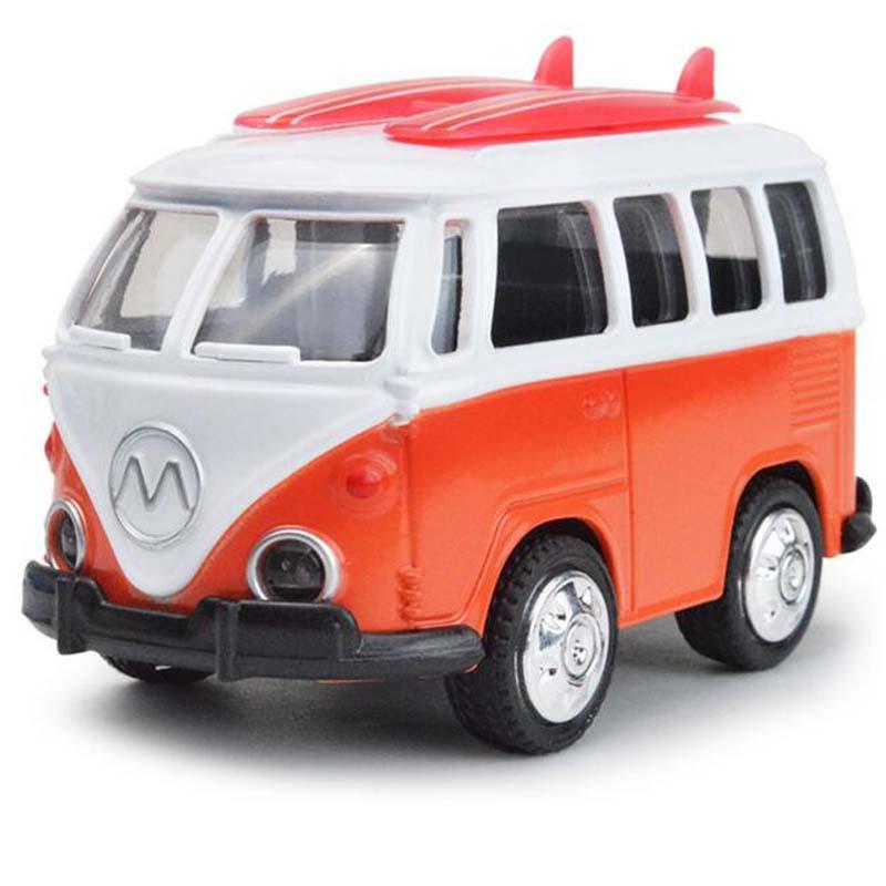 high simulation diecasts alloy model classic car kids toys vintage public bus 143 scale