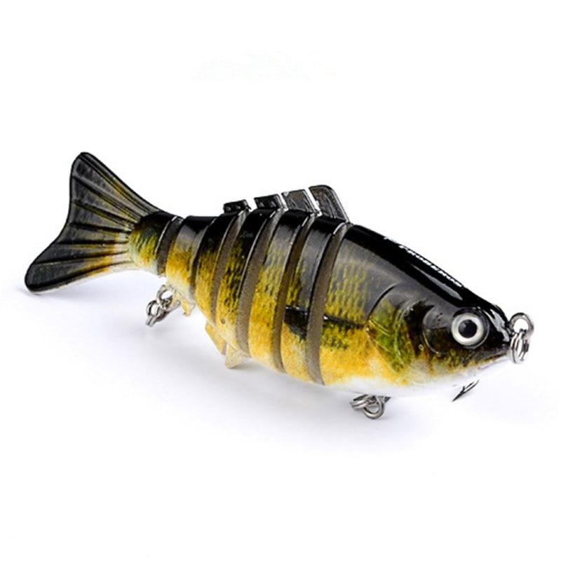 1 buc 10cm 15.2g momeli de pescuit wobblers artificiale secțiuni cu - Pescuit - Fotografie 3