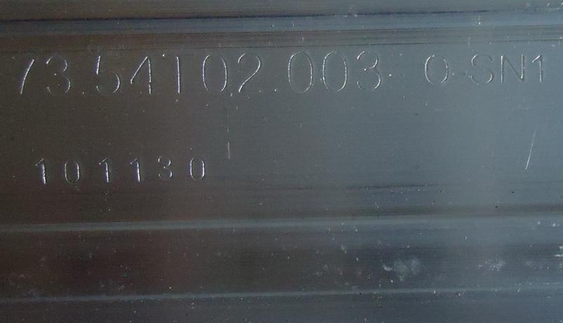 חלקי חילוף לקטנועים עבור TCL L55P11FBDE סעיף מנורה 73.54T02.003-0-SN1 73.54T02.004-0-SN1 1piece = 72LED 615MM (3)