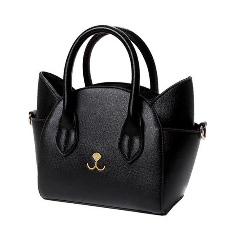 women messenger bags female cute Cat Messenger handbags lady small totes bags handbags women famous brands leather bags women