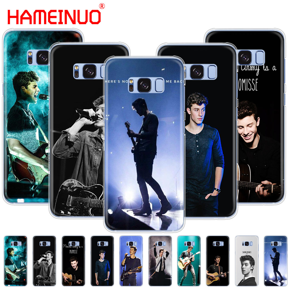 HAMEINUO Hit pop singer Shawn Mendes Magcon cell phone case cover for Samsung Galaxy S9 S7 edge PLUS S8 S6 S5 S4 S3 MINI