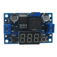 JFBL Hot LM2596S high-power step-down module DC-DC adjustable power supply module with digital display Blue