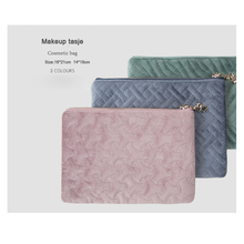 Retro Velvet Makeup tasje trousse a maquillage small cosmetic bag portable Women storage bag holo donuts 3d printing cosmetic bag 2016 fashion new women pencil case makeup bag neceser para mujer trousse de maquillage bags