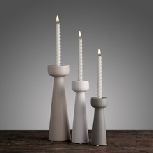 PINNY Nordic Ceramics Candle Holders Home Decoration Accessories Modern Romantic Candlesticks Light