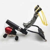 Potente Slingshot di Caccia di Pesca Set Pro Tiro Pesce Freccia Catapulta Outdoor Launcher o Outdoor Pesca Caccia Accurate