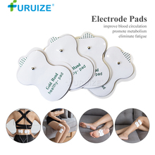 10-20pcs Electrode pads Body Massage Electrode gel pads Adhesive Gel use Digital Therapy Machine Massager White Electrode Pad new 10 pairs pack aed training machine adult electrode pads use for simulated first aid rescue heartstart trainer