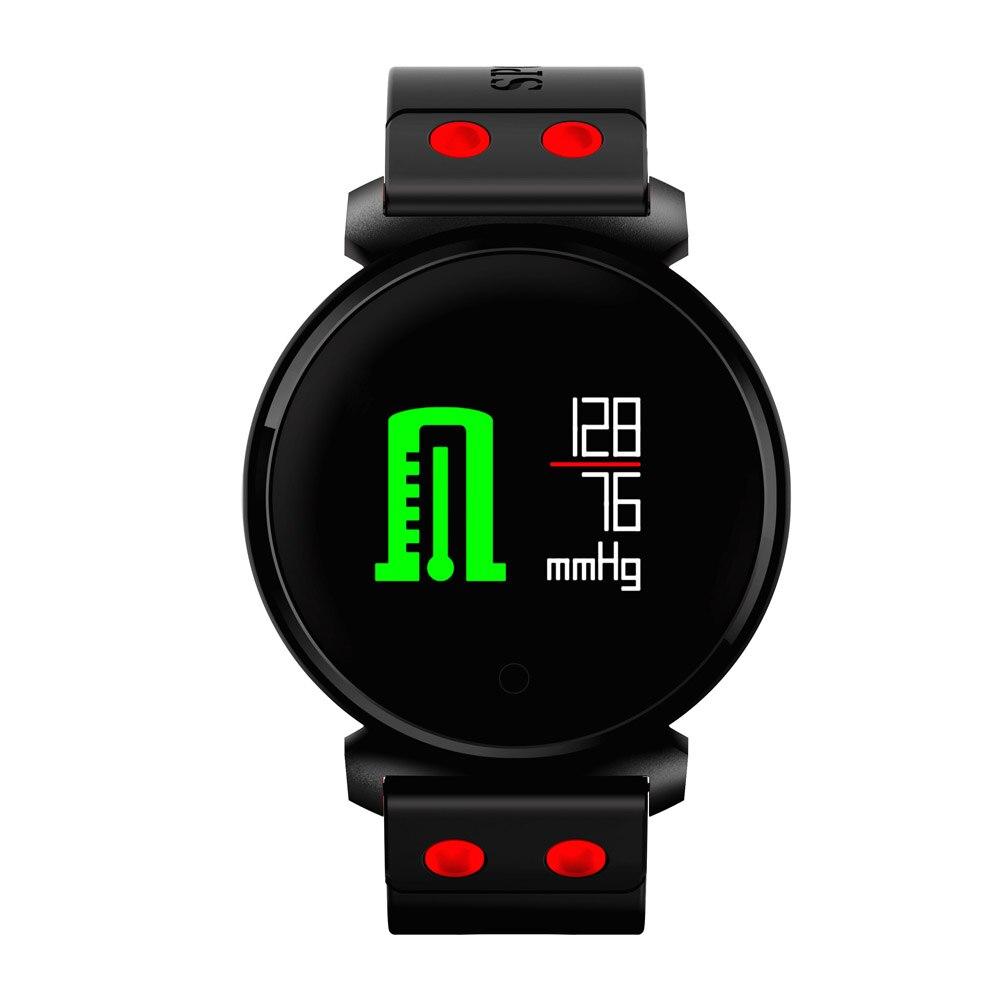2018 K2 Bluetooth Smartwatch Waterdichte IP68 Hartslag Bloeddruk Bloed Zuurstof Smart Horloge voor iOS Android Telefoon Pk Xiao no 1 f2 ip68 bluetooth smartwatch green