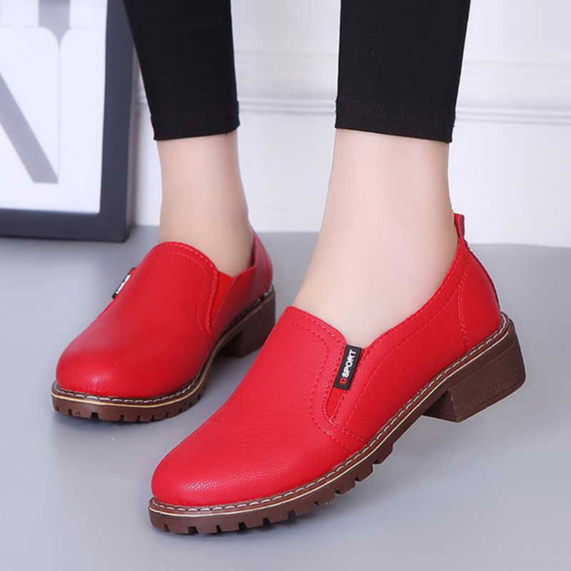 2019 New Spring Women  Shoes Round Toe Oxford Flats Shoes Fashion Casual Shoes Non-slip Loafers Women Brogue Shoes Plus Size 422019 New Spring Women  Shoes Round Toe Oxford Flats Shoes Fashion Casual Shoes Non-slip Loafers Women Brogue Shoes Plus Size 42