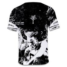 Hot New Arrive Xxxtentacion 3D t shirt Men/women Fashion Streetwear Hip Hop Style Raper Xxxtentacion 3D Print Men's t shirt Top