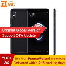Ücretsiz vergi! Küresel Sürüm Xiaomi Redmi Not 5 4 GB 64 GB MIUI 9.5 Smartphone Snapdragon 636 Octa Çekirdek 5.99