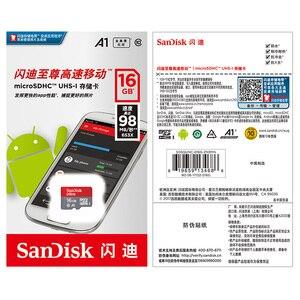 Image 5 - سانديسك بطاقة الذاكرة 8GB C4 16GB 32GB مايكرو sd 64GB 128GB 256GB 100 برميل/الثانية Class10 مايكرو SD SDHC SDXC عبر بطاقات فلاش محرك الذاكرة