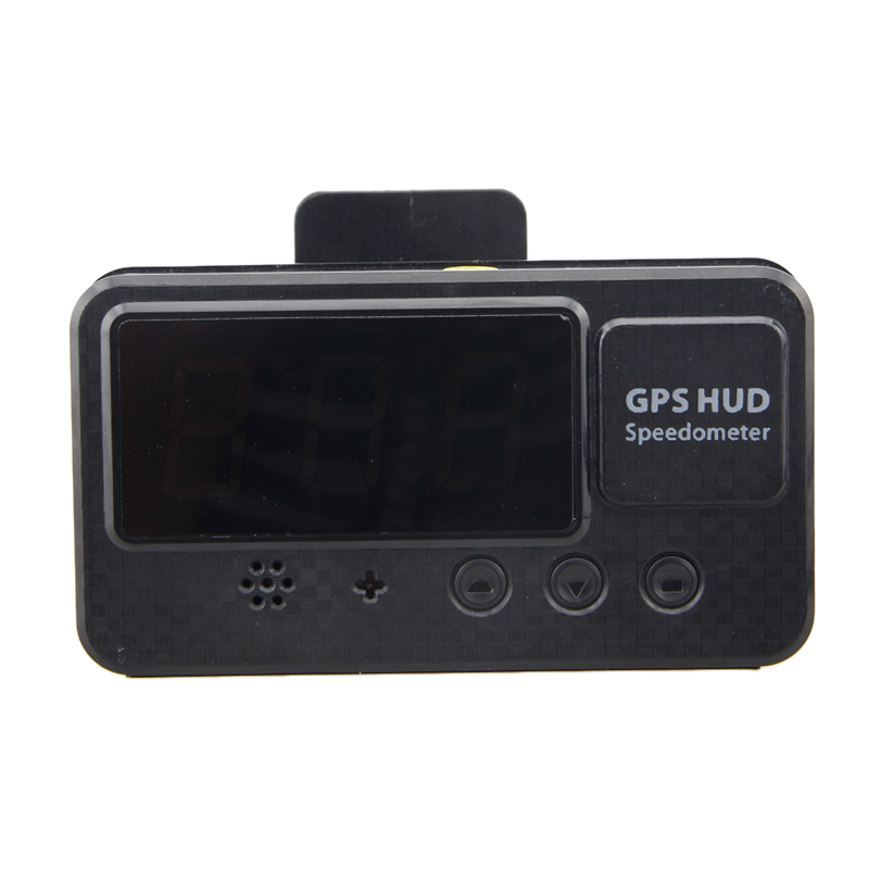 C60S Universal Car Hud GPS Speedometer Digital Head Up Display With Over Speed Alarm MPH KM/H For All Vehicles