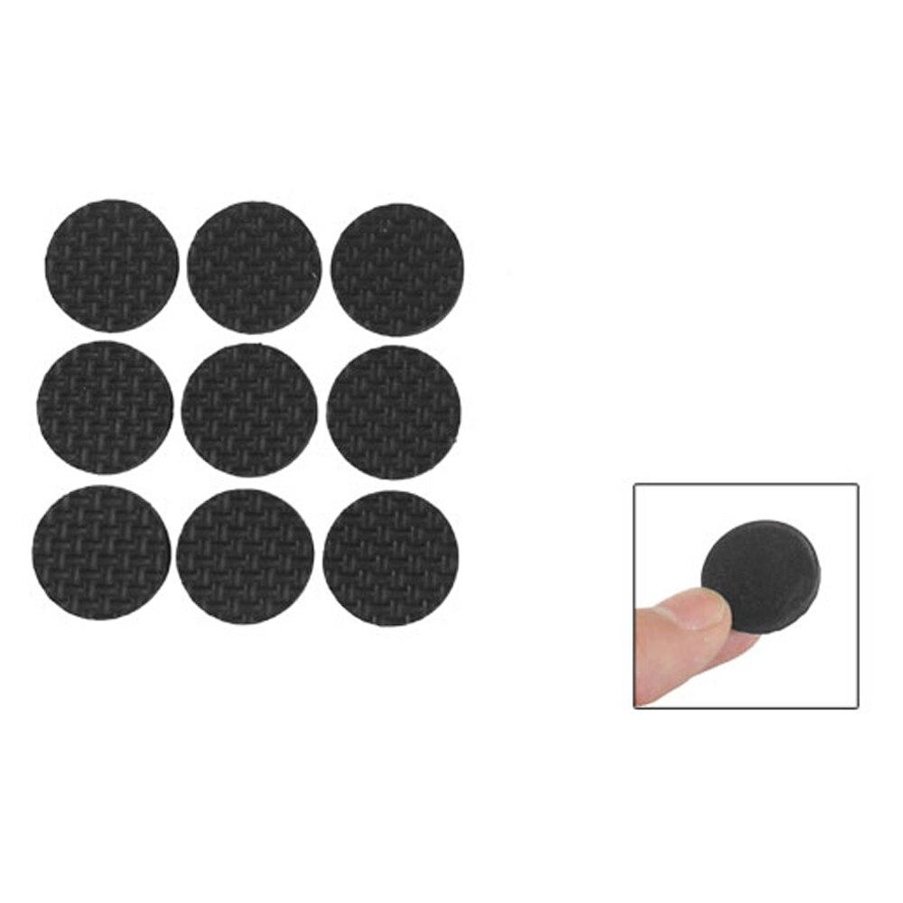 LHLL! 18 Pcs Self Adhesive Black Foam Table Chair Leg Pad Protector