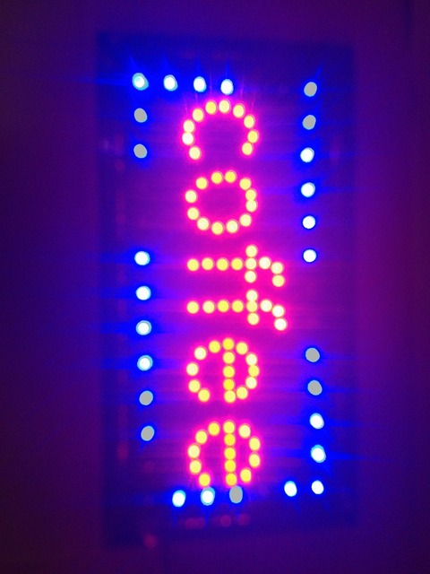 LED coffee shop  SIGN On/Off Switch Light Neon