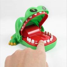 2c1b296b43 Hot Vender Criativo Prático Piadas Dente Boca Jacaré Mão Brinquedos Para  Crianças da Família Jogo Crocodilo