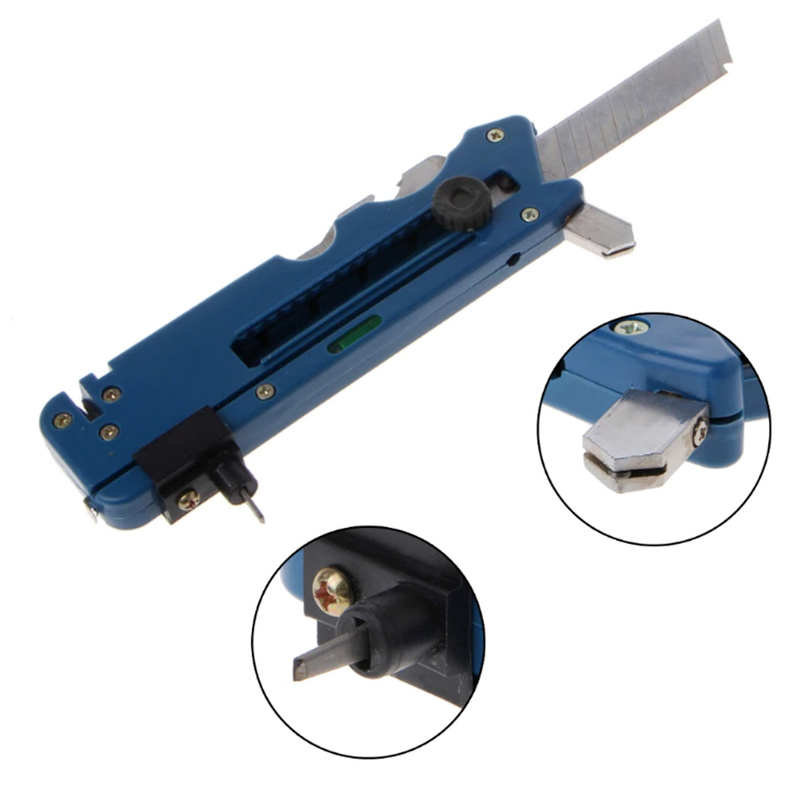 Multifunction Glass Tile Cutter Carbon Atoms Blades Ceramic Plastic Cutting Tool CLH@8