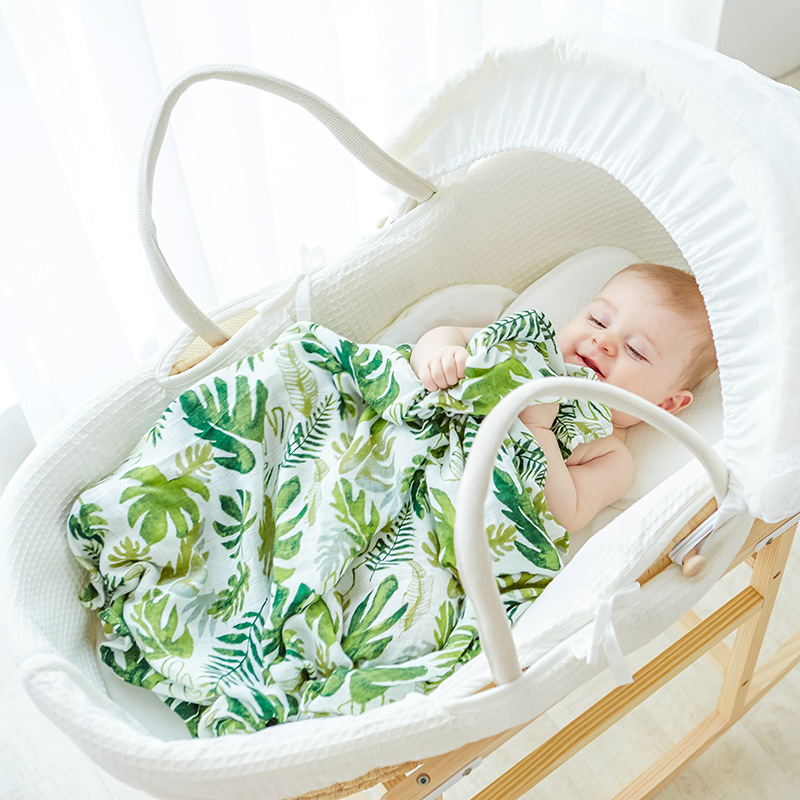 ins new coming baby swaddle baby muslin blanket quality better than Aden Anais Baby Multi-use cotton/bamboo Blanket Infant Wrap