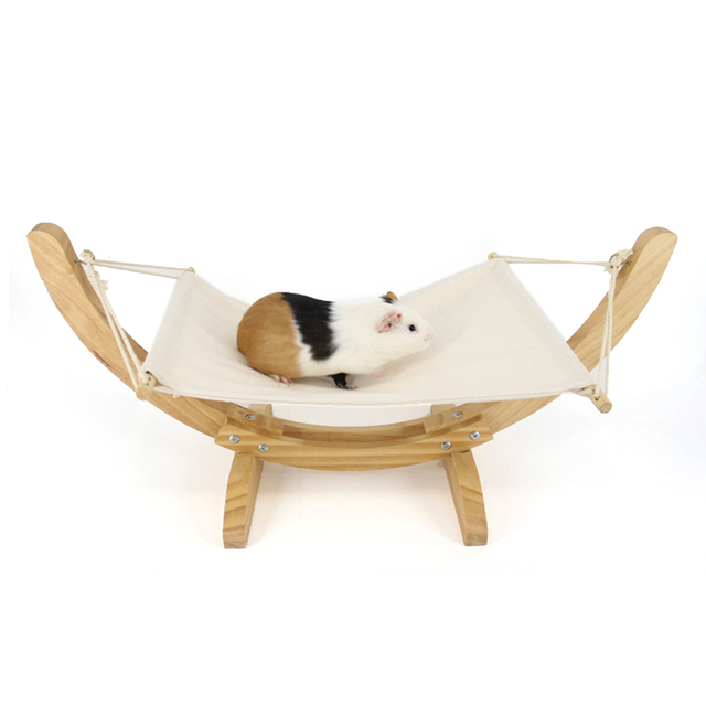 Wood Handmade Cat Bed Cat Hammock Cradle Mat Swing Dog Bed Puppy Blanket Pet Bed Pet Product Cat Toy Sleeping Hammock