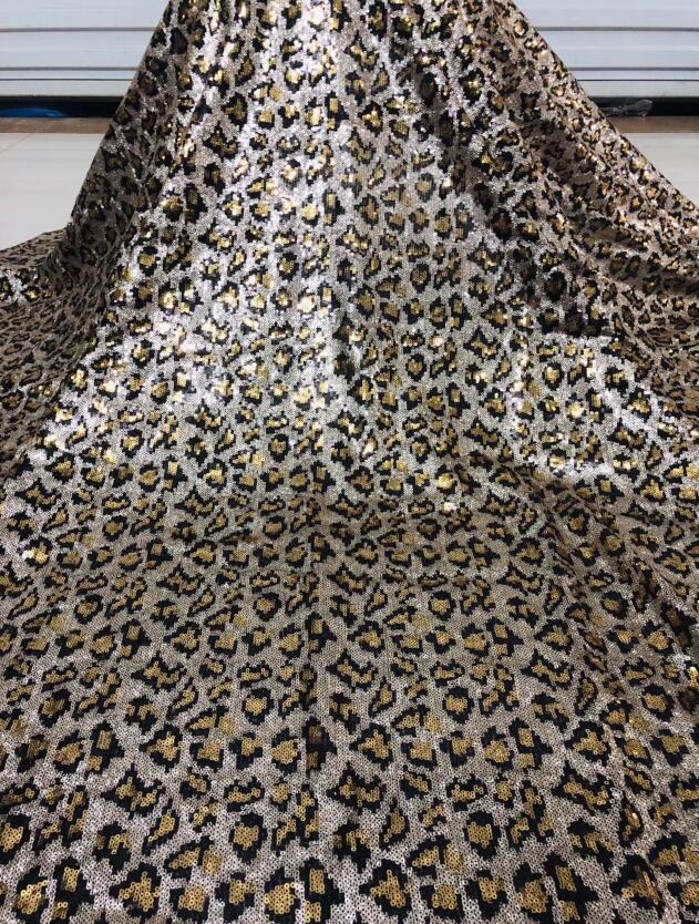 CiCi 12 2515 embroidered Mesh Tulle fabric Factory price sequins Nigerian lace fabrics