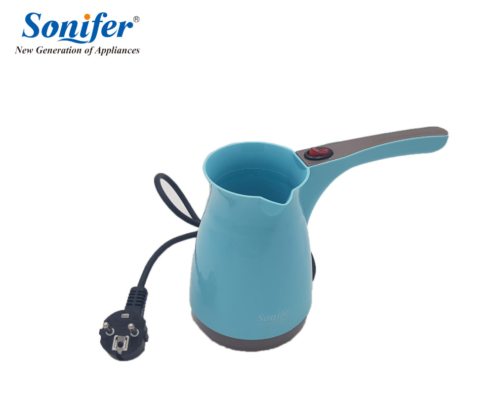 Colorful Coffee Machine Turkey Coffee Maker portable Electrical Coffee Pot Food Grade Coffee Kettle Sonifer fast food leisure fast food equipment stainless steel gas fryer 3l spanish churro maker machine
