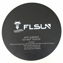 2 pcs Flsun-QQ Making Tape For Heated Bed 260*260mm Black Bed Tape Heatbed Sticker
