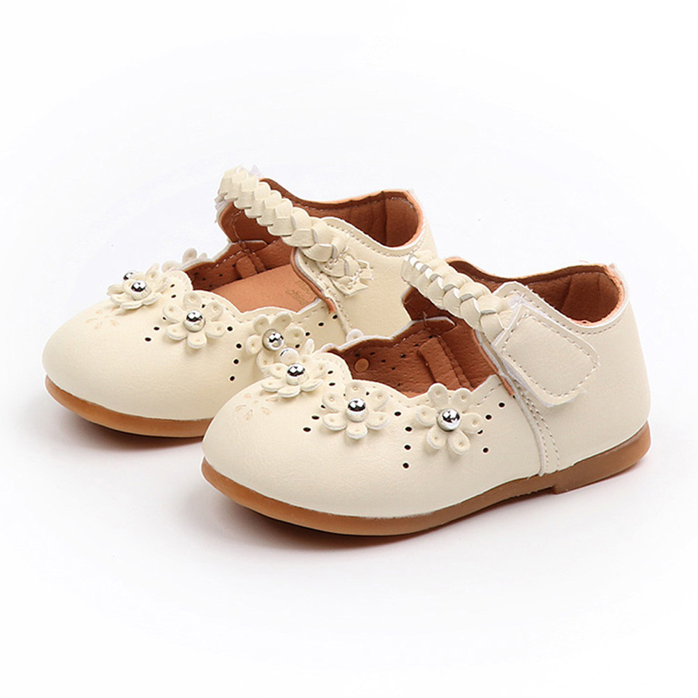 SZYADEOU Kids Baby Summer Sandals For Girls Single Shoes Children Rubber Leather Princess Beach Sandals סנדלים בנות Сандали L4